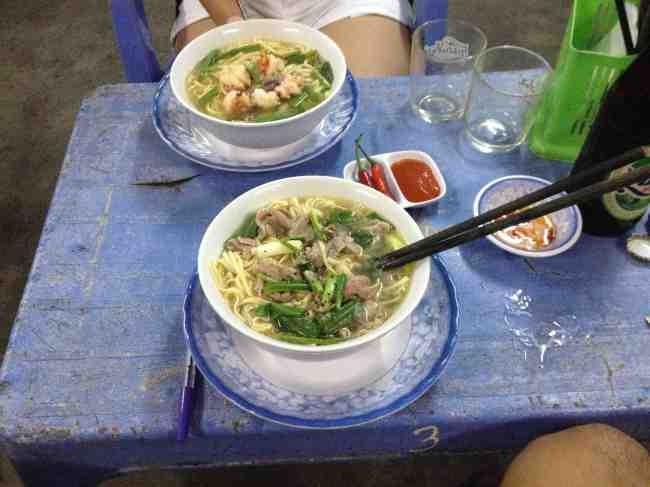 Pho Bo and Pho Ga